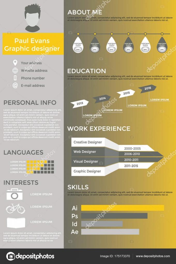 Curriculum Vitae Disenador Grafico Espanol Curriculum Vitae Plana