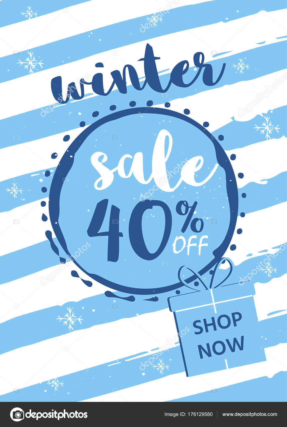 Winter Sale Banners Transformer Banners