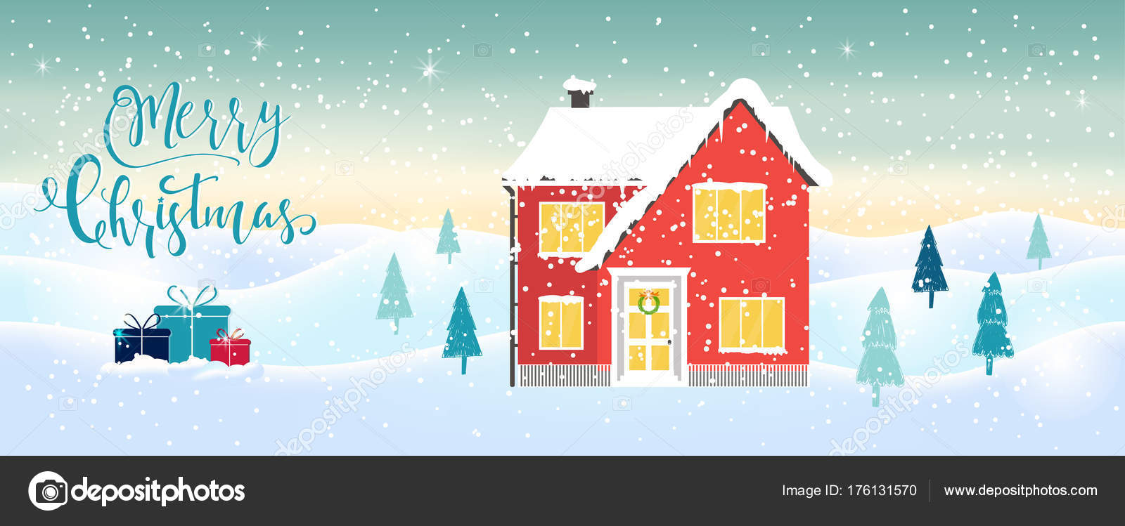 light blue christmas background winter house lettering white sparkling snowflakes stock vector c tanyasun 176131570 https depositphotos com 176131570 stock illustration light blue christmas background winter html