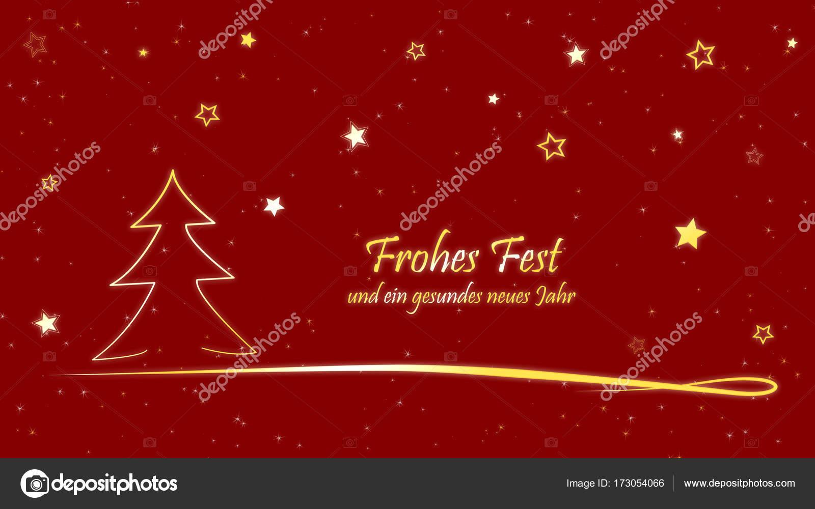 Weihnachtskarte Frohe Weihnachten und ein glückliches neues Jahr ...