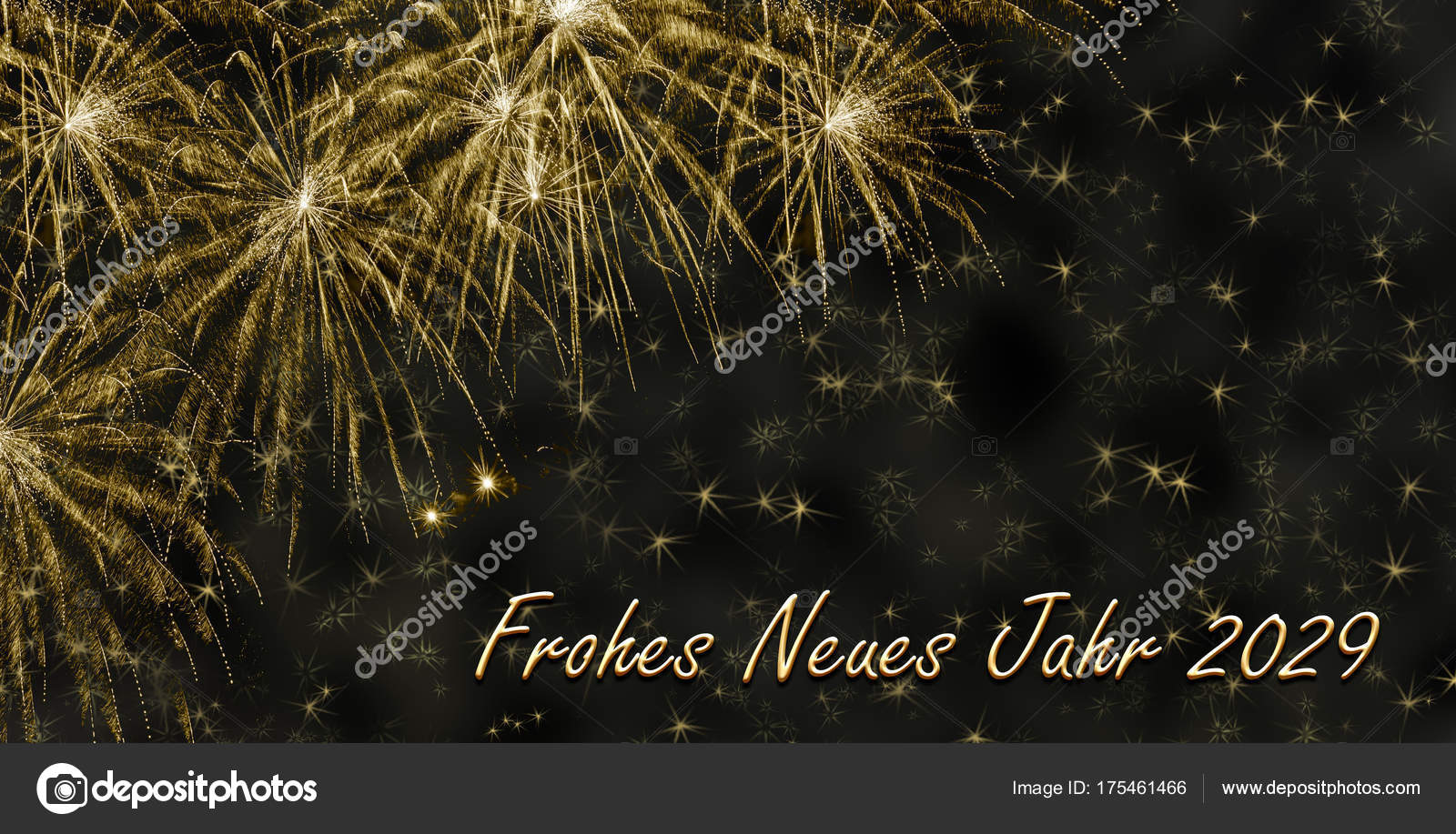 Happy New Year 2029 — Stock Photo