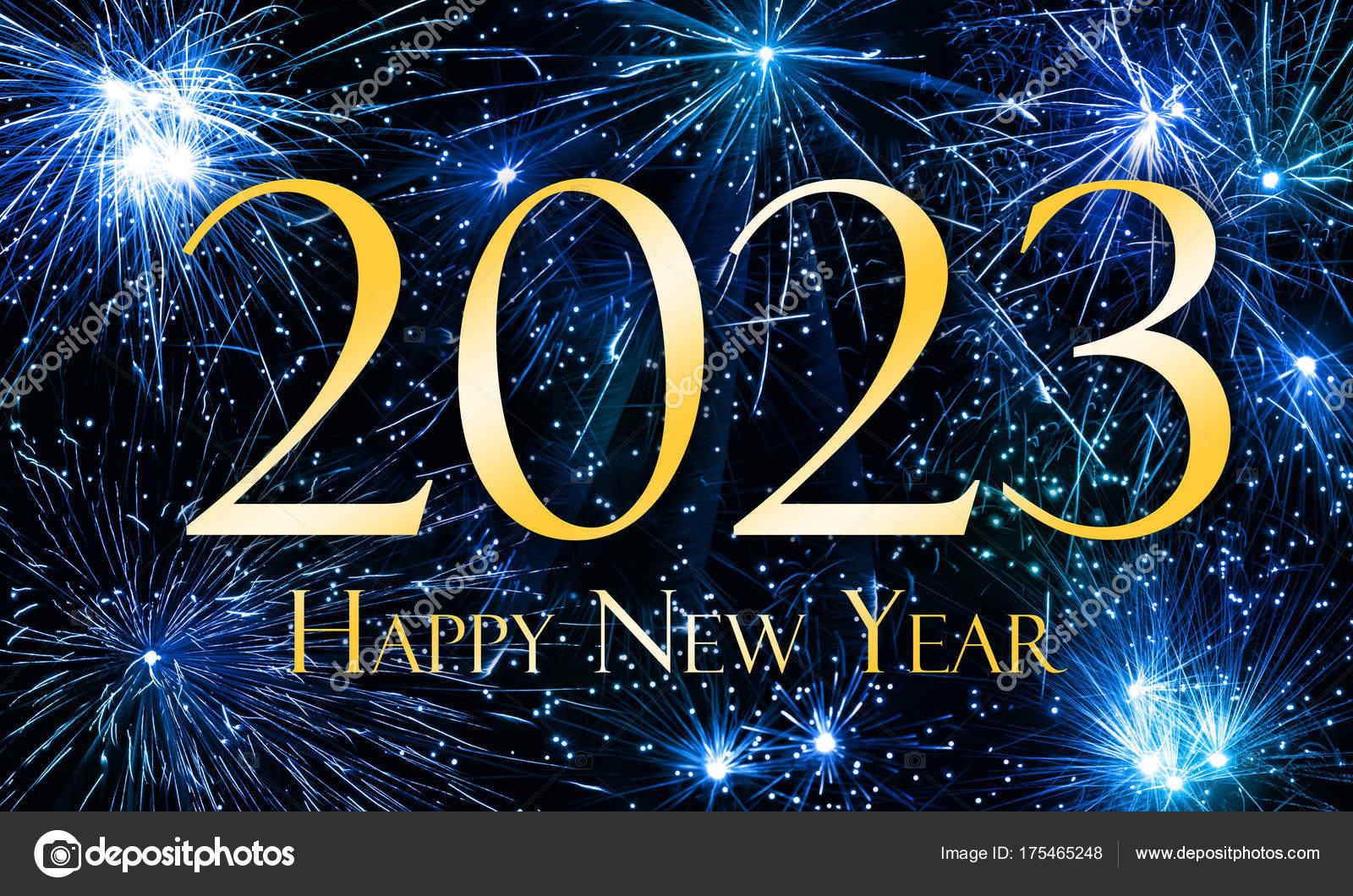 Happy New Year 2023 — Stock Photo