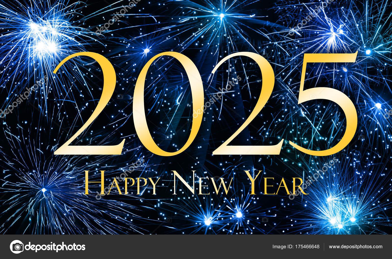 Happy New Year 2025 — Stock Photo