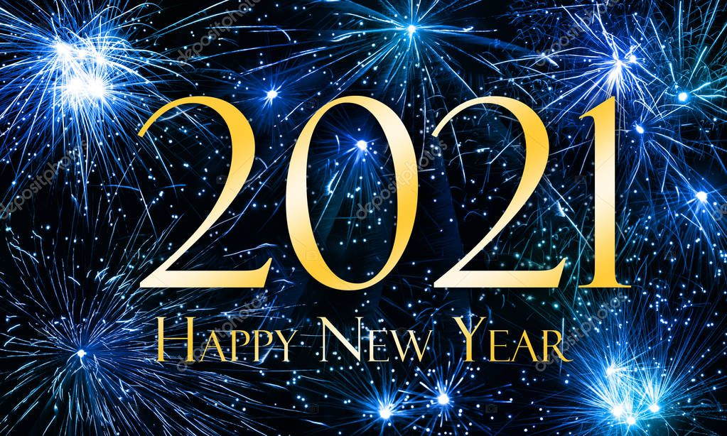 Happy New Year 2021 — Stock Photo © JNaether #175464238