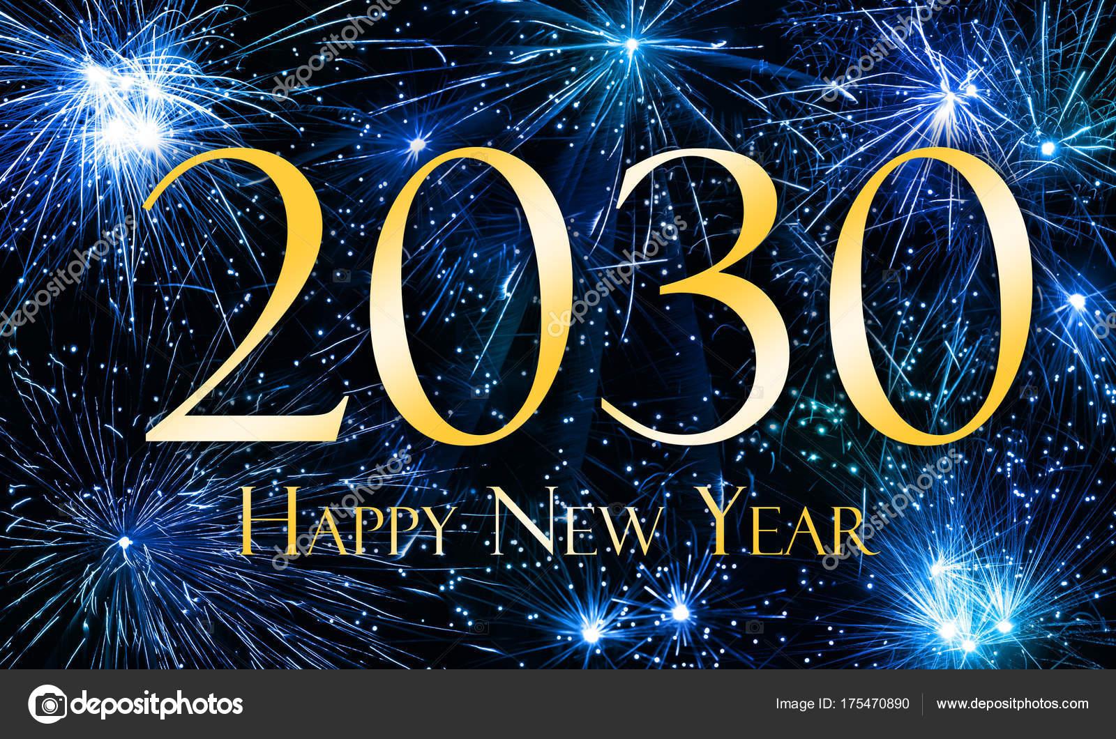 С новым годом 2030 — Фото автора ...