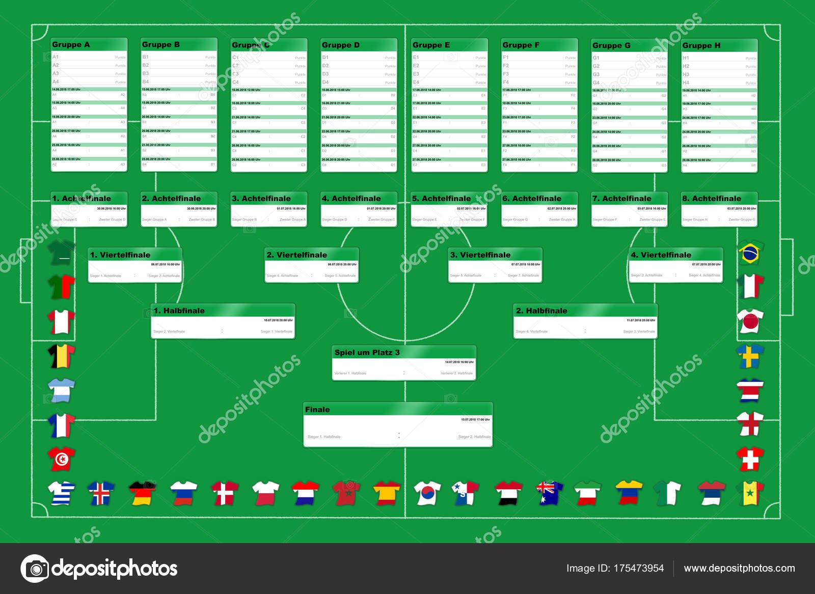 Текст про футбол на немецком языке