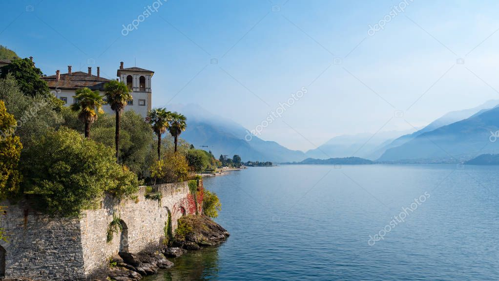 View of Lake Como from Gravedona