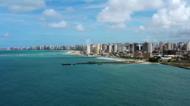 Turizm şehri. Fortaleza şehri, Ceara eyaleti, Brezilya, Güney Amerika.