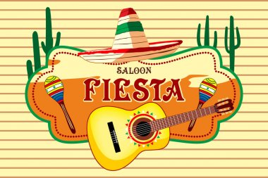 Mexican salon Fiesta, carnival, fun,