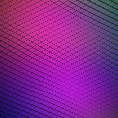 Abstract Vector Technological Waveform Background