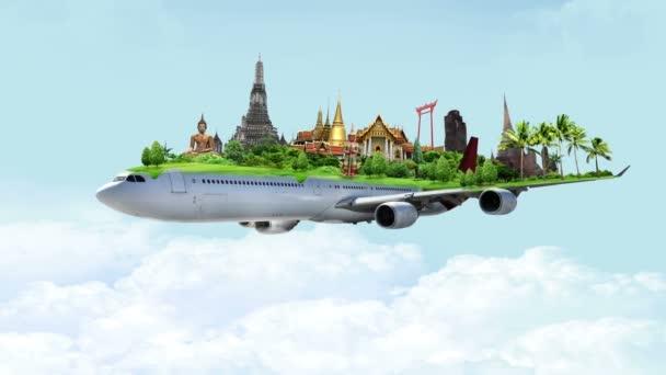 Cestovní koncept Thajsko mezník