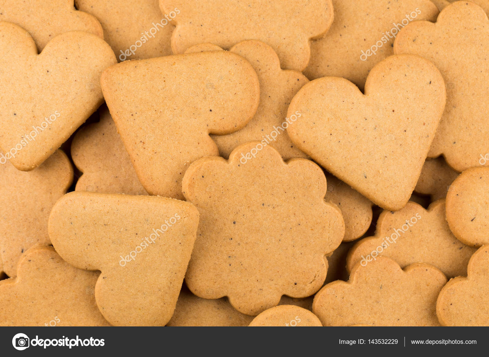 Gingerbread Hearts Cookies Stock Photo C Romantsubin 143532229