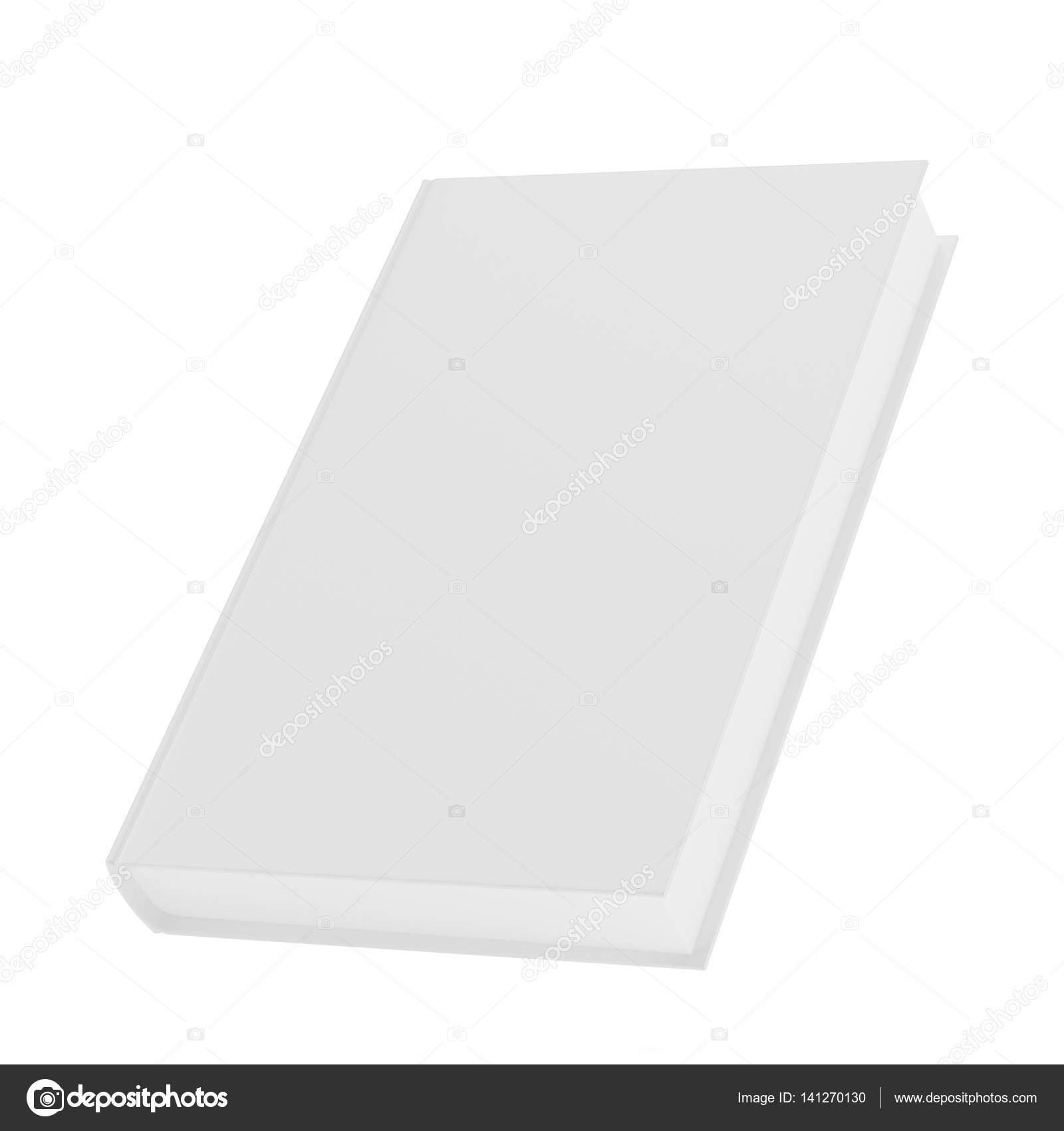 Blank vertical book cover template — Stock Photo © mirexonlife ...