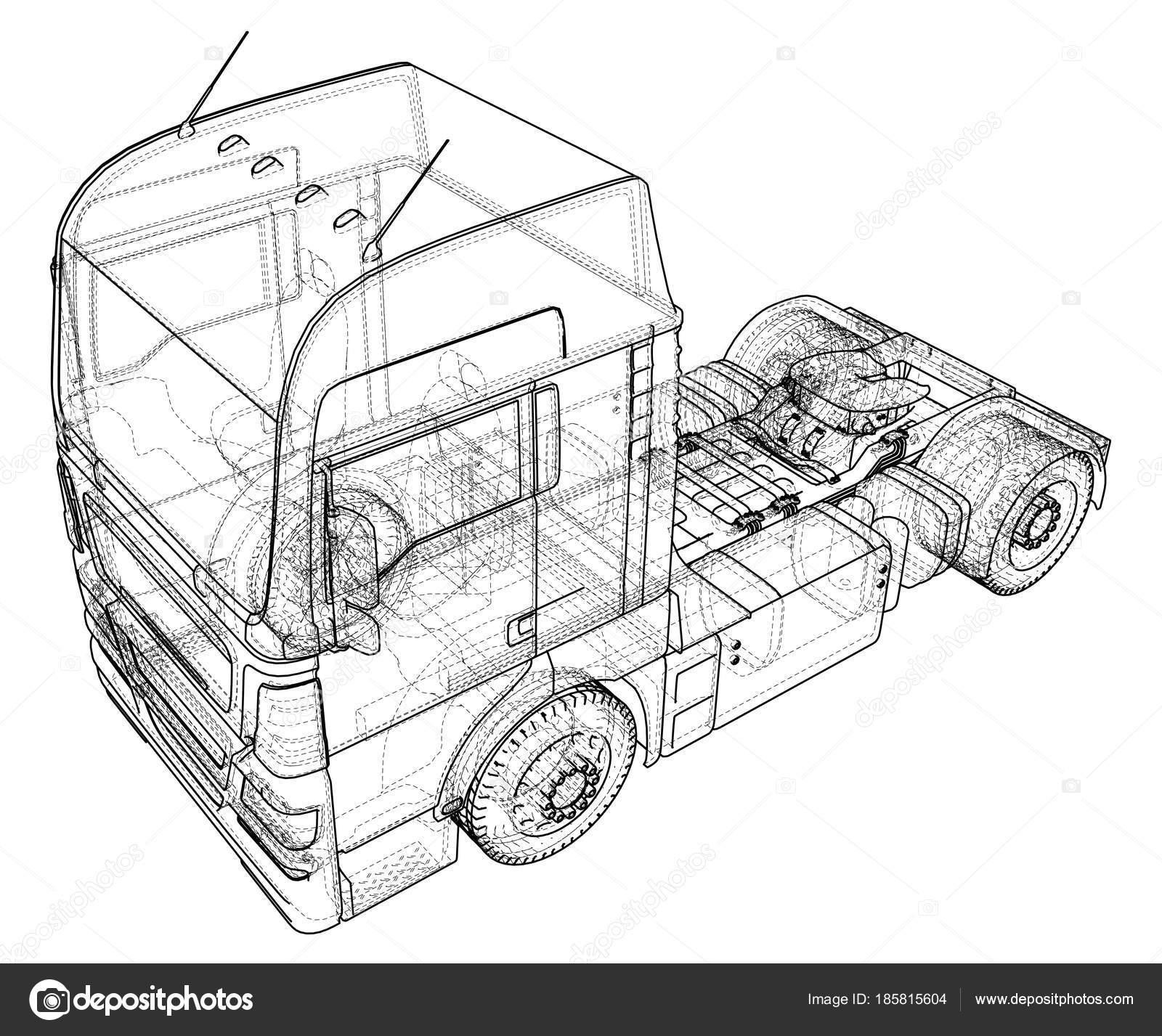 depositphotos_185815604 stock illustration modern cargo truck isolated on modern cargo truck isolated on grey background eurotrucks