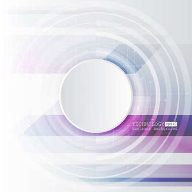 Abstract hi-tech, engineering, machine, technology concept. Vector abstract futuristic technology background