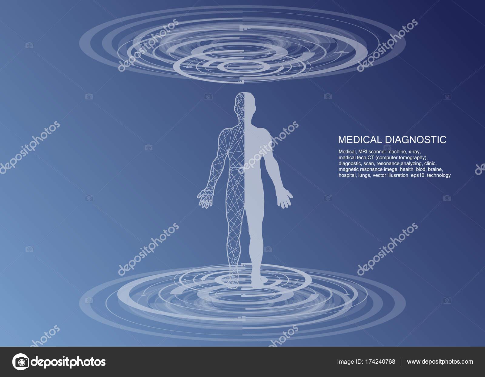 Cuerpo humano de salud, con los iconos médicos, órganos, gráficos ...