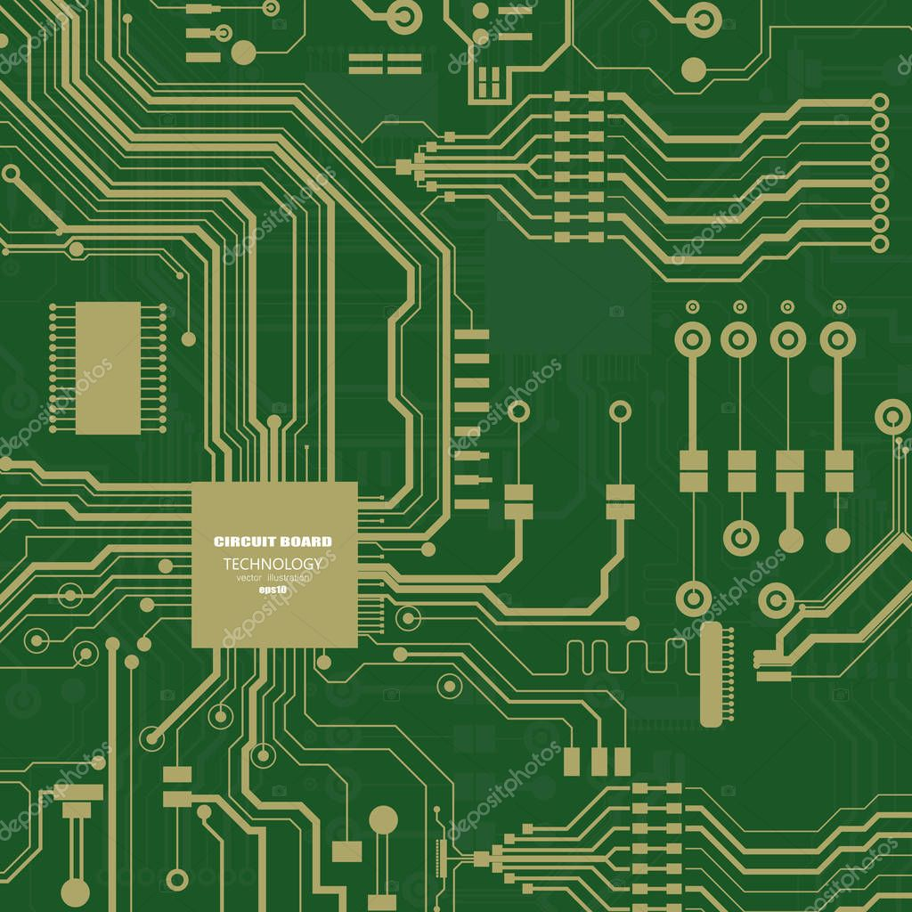 Icons Website Search Over 28444869 Icon Circuit Board Illustration Vector Abstract Technology