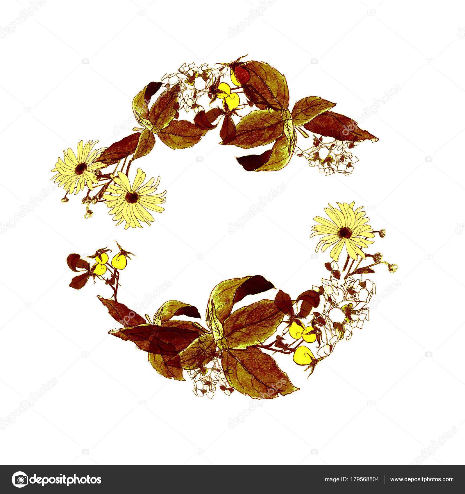 Kranz Herbst Blume: Aster, Chrysantheme, Hortensie, Rose Schiffe ...