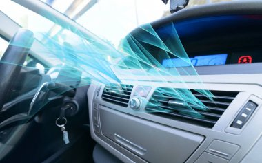 Driver hand tuning air ventilation grille