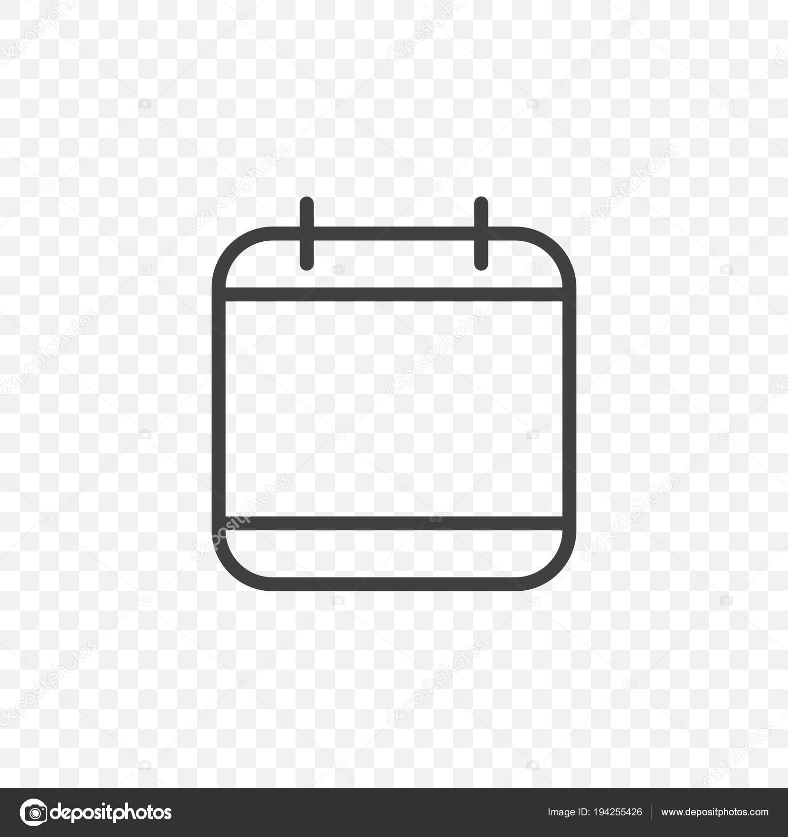 Calendario Dibujo Png.Vector Icono Agenda Png Icono Del Calendario Vector