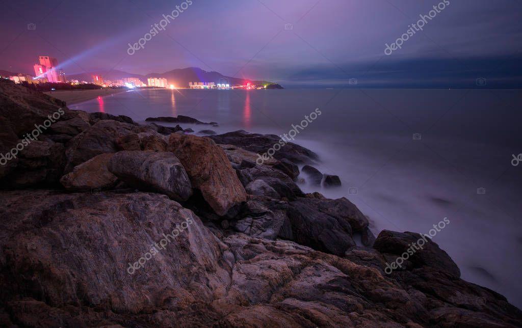 The scenery of Hailing Island in Yangjiang, Guangdong, China