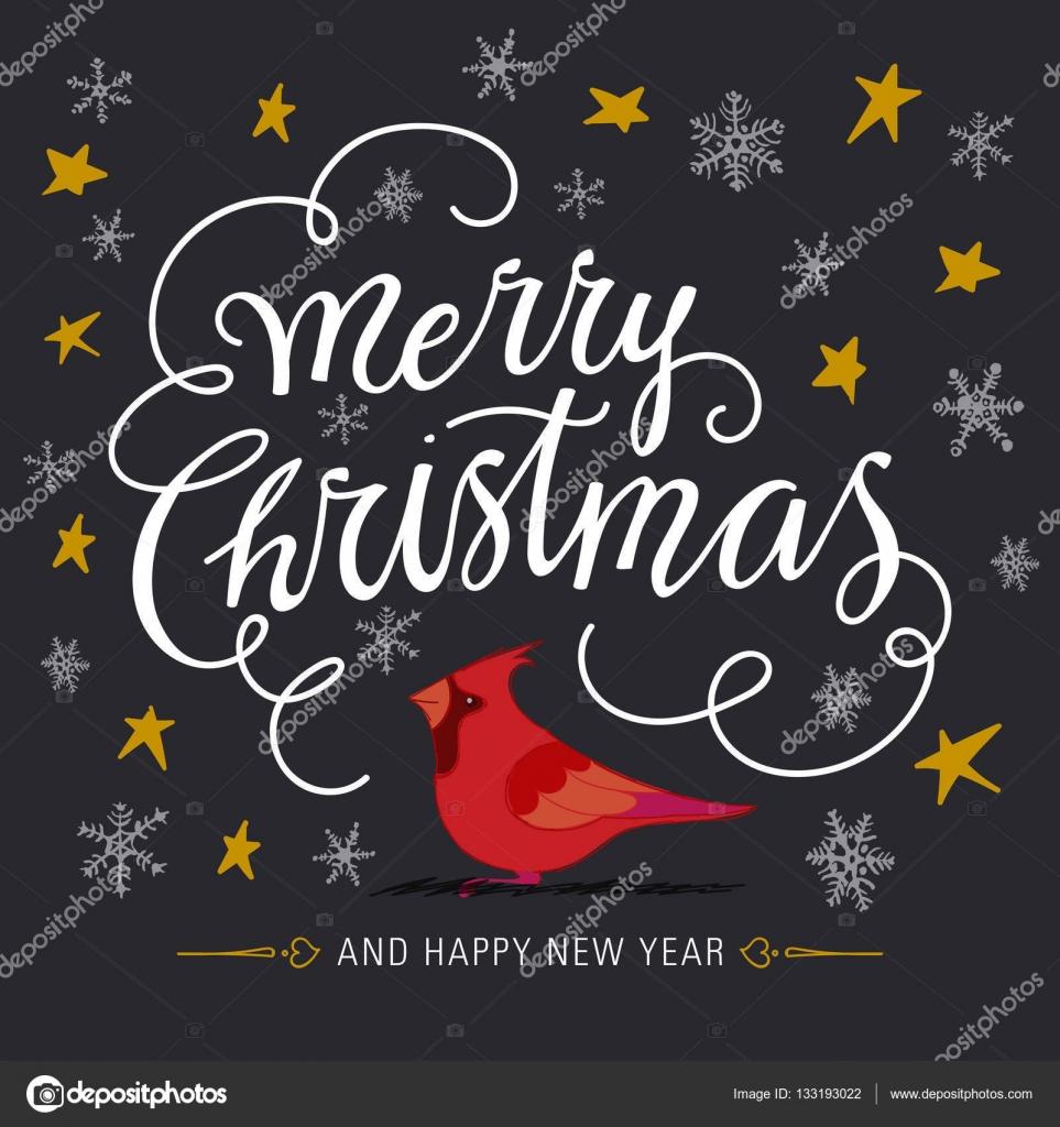 Frohe Weihnachten Und Guten Rutsch In Neues Jahr.Frohe Weihnachten Und Guten Rutsch Ins Neue Jahr Stockvektor