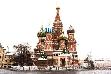 Moscow center during quarantine, March 2020, coronavirus Pandemic, covid-19