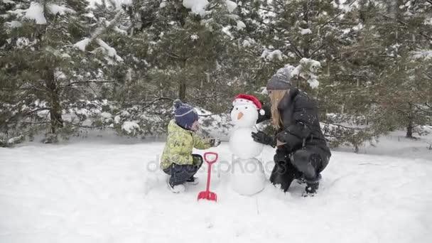 Máma a syn sněhuláka 9