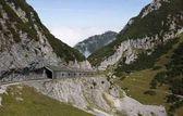 Fotografie COG Railway Track aus Wendelstein, Bayern, Deutschland, Europa