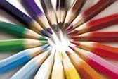 barevné tužky pro umění, kreslení