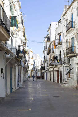 Old part of the town, Eivissa, Ibiza, Baleares, Spain, Europe