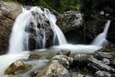 Kuhflucht Falls, Farchant, Alta Baviera, Baviera, Germania, Europa