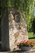 Fotografie Denkmal für Johannes Brahms in Tutzing am Starnberger See
