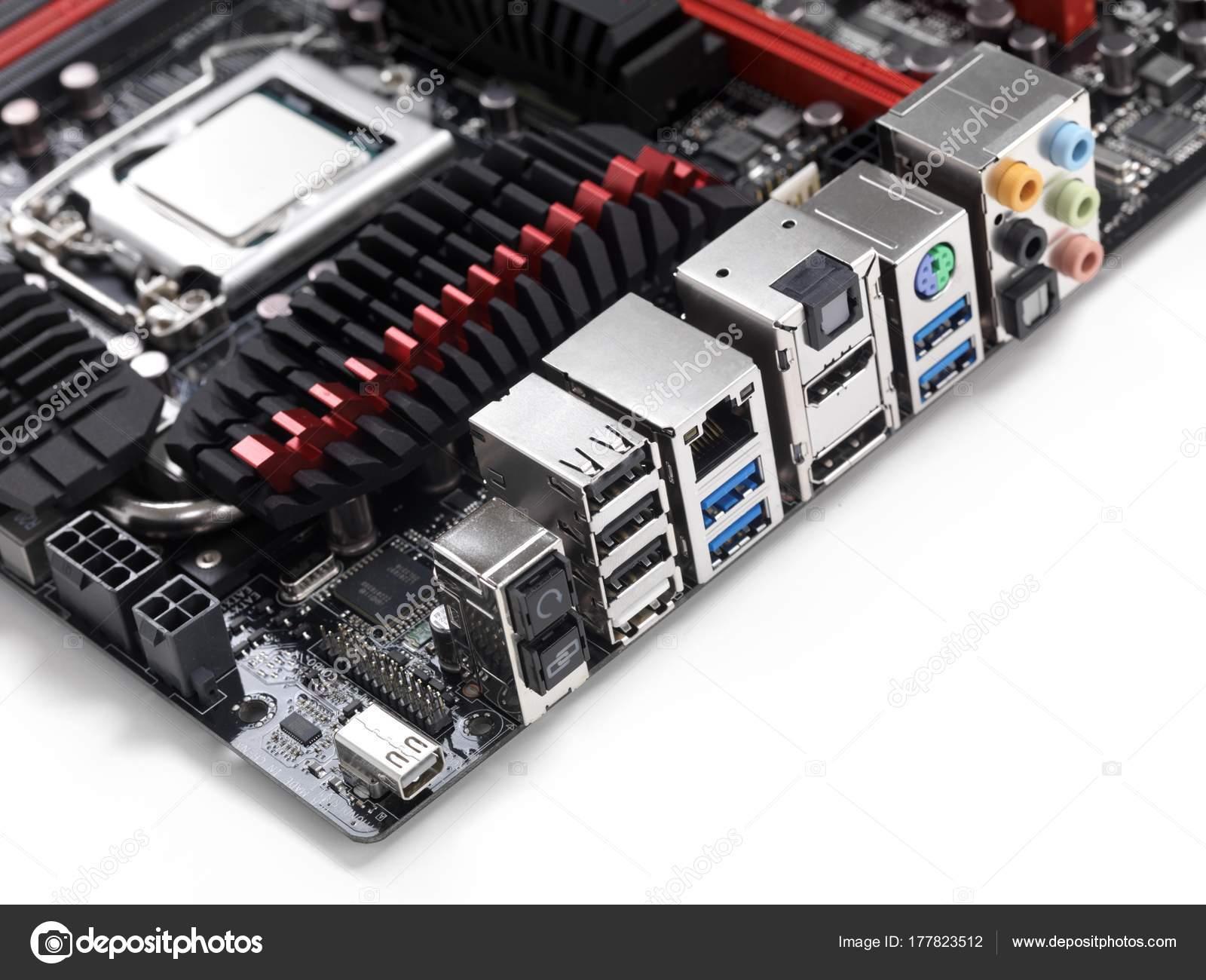 Motherboard Back Plate Connectors Including Thunderbolt Usb