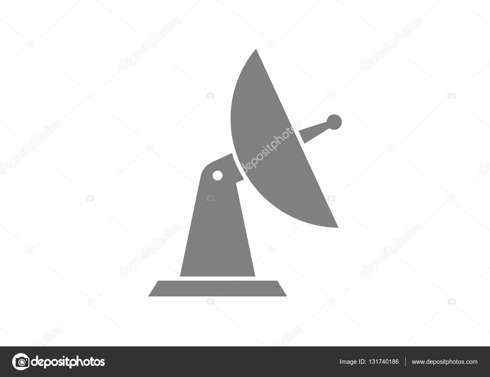 Antennensymbol auf weißem Hintergrund — Stockvektor © Anthonycz ...