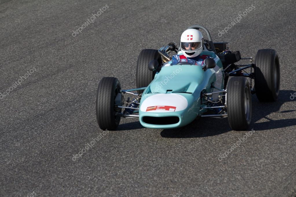 Old race car on a circuit. – Stock Editorial Photo © allg #127926300