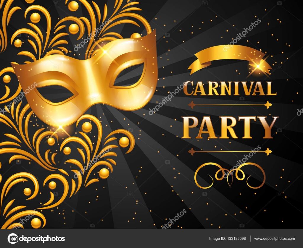 Fondos Para Invitaciones De Carnaval Tarjeta De Invitación