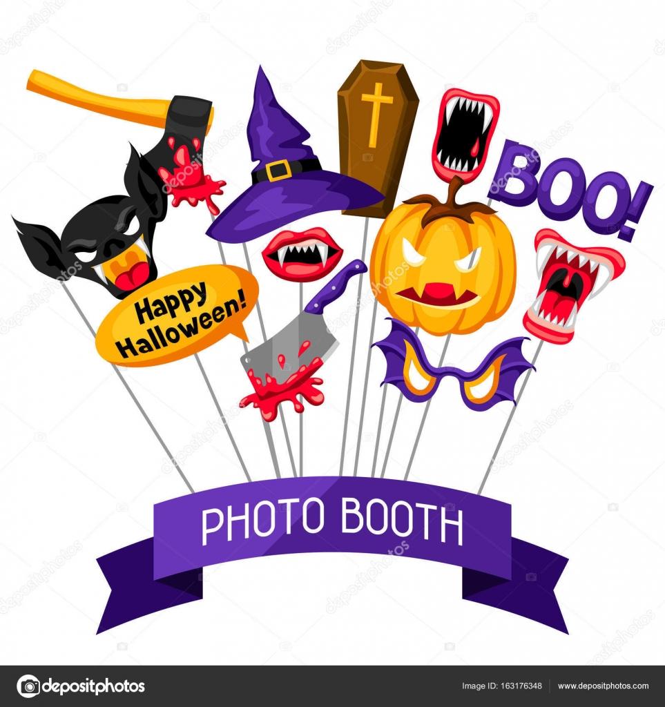 Halloween Photo Booth Props Accessoires Voor Festival En Feesten