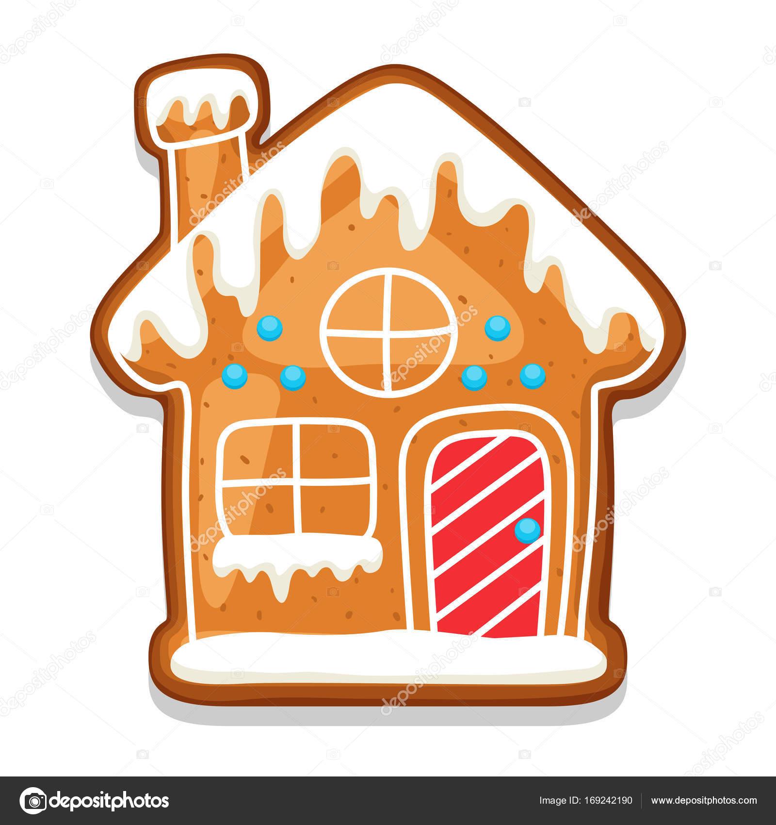 Vector: galletas de jengibre | Casa de galletas de ...