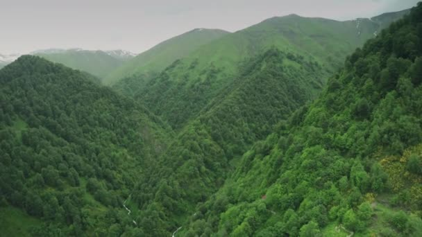 Image of: Fight Danger Road Caucasus Mountains Epic Flight Hills Caucasian Beauty Nature Georgia Animals Waterwall Drone 4k Stock Footage Depositphotos Danger Road Caucasus Mountains Epic Flight Hills Caucasian Beauty