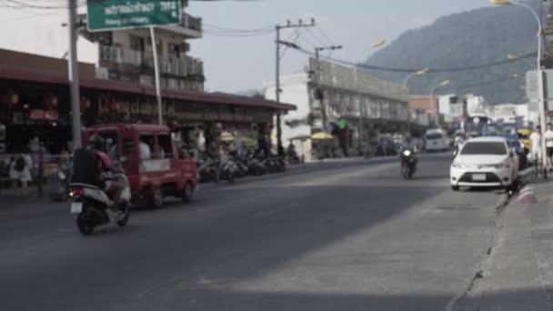 Phuket Thai street asia thailand bangla road summer cars and peoples