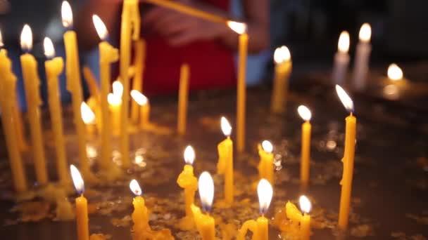 Svíčky v Arménii do kostela náboženství, svíčka, Vánoce, plamen, světlo, svíčky, náboženské, spiritualita, křesťanství, oheň, oslava