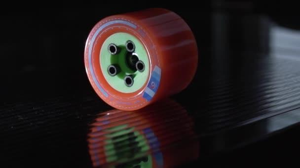 Longboard Rollen für Montage, Skateboard, skateboarding Sport, extreme Board, Board fahren, Skaten, Kohlenstoff-deck