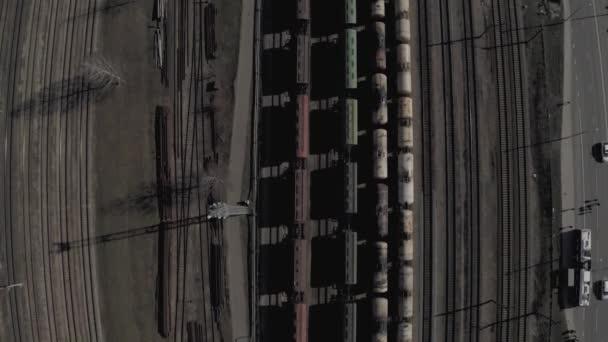 4k Let dronem nad železnicemi, Železniční železnice v evropském městě