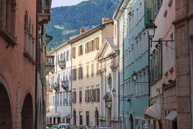 Beautiful city of Trento, Italy