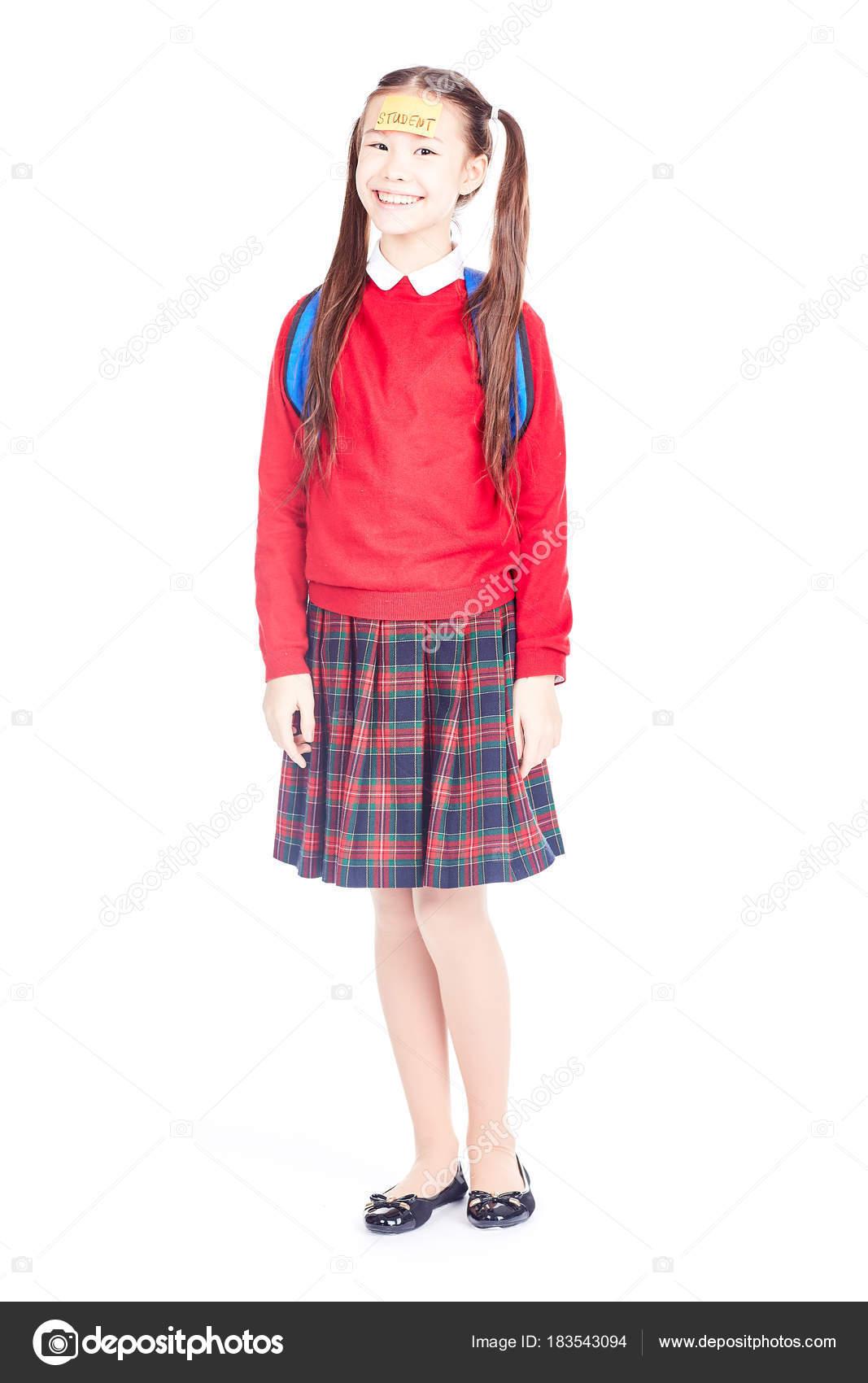 Schoolgirl Uniform Pattern Cool Decoration
