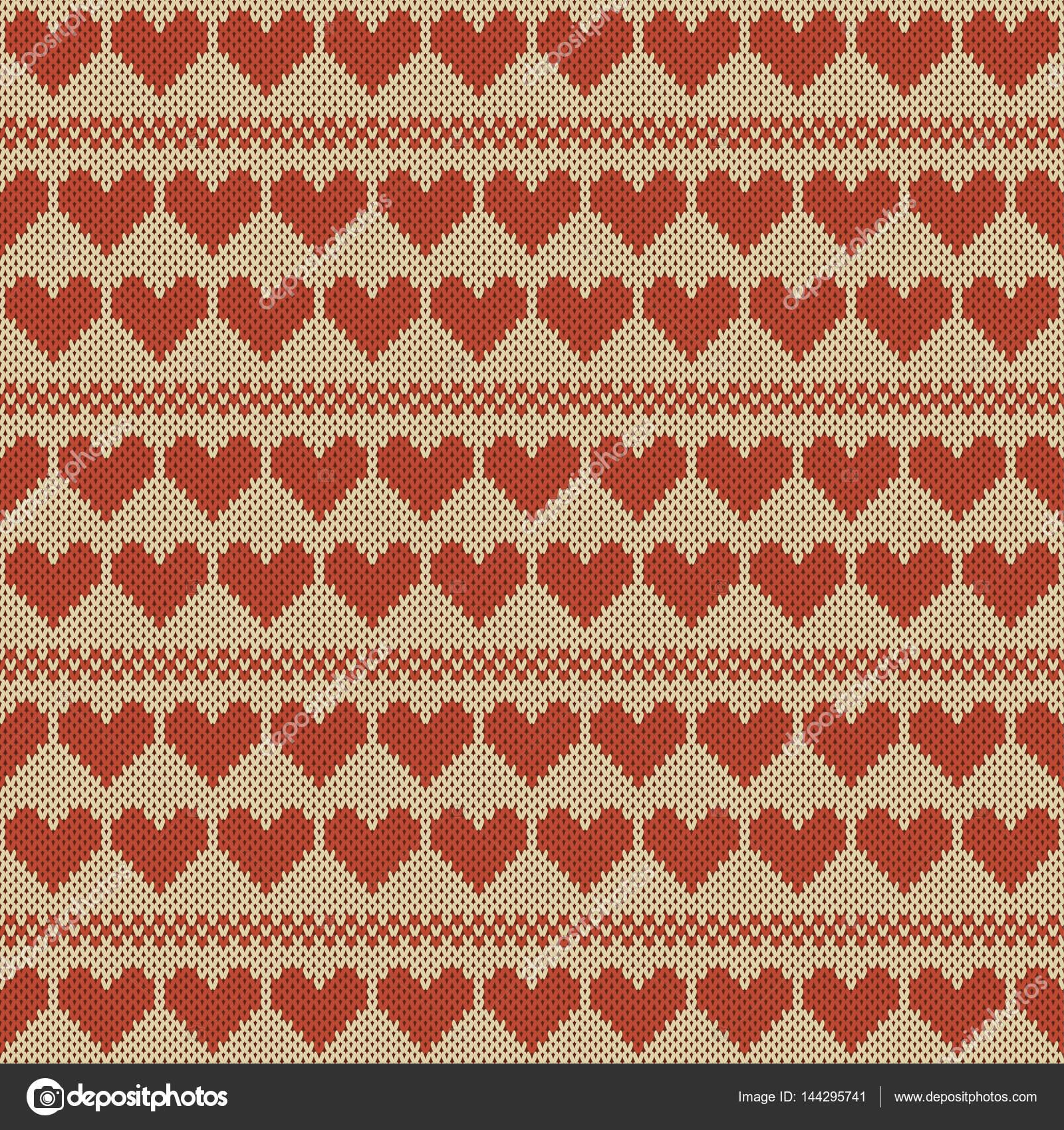 patrón de tejido sin costuras — Vector de stock © NonikaStar #144295741