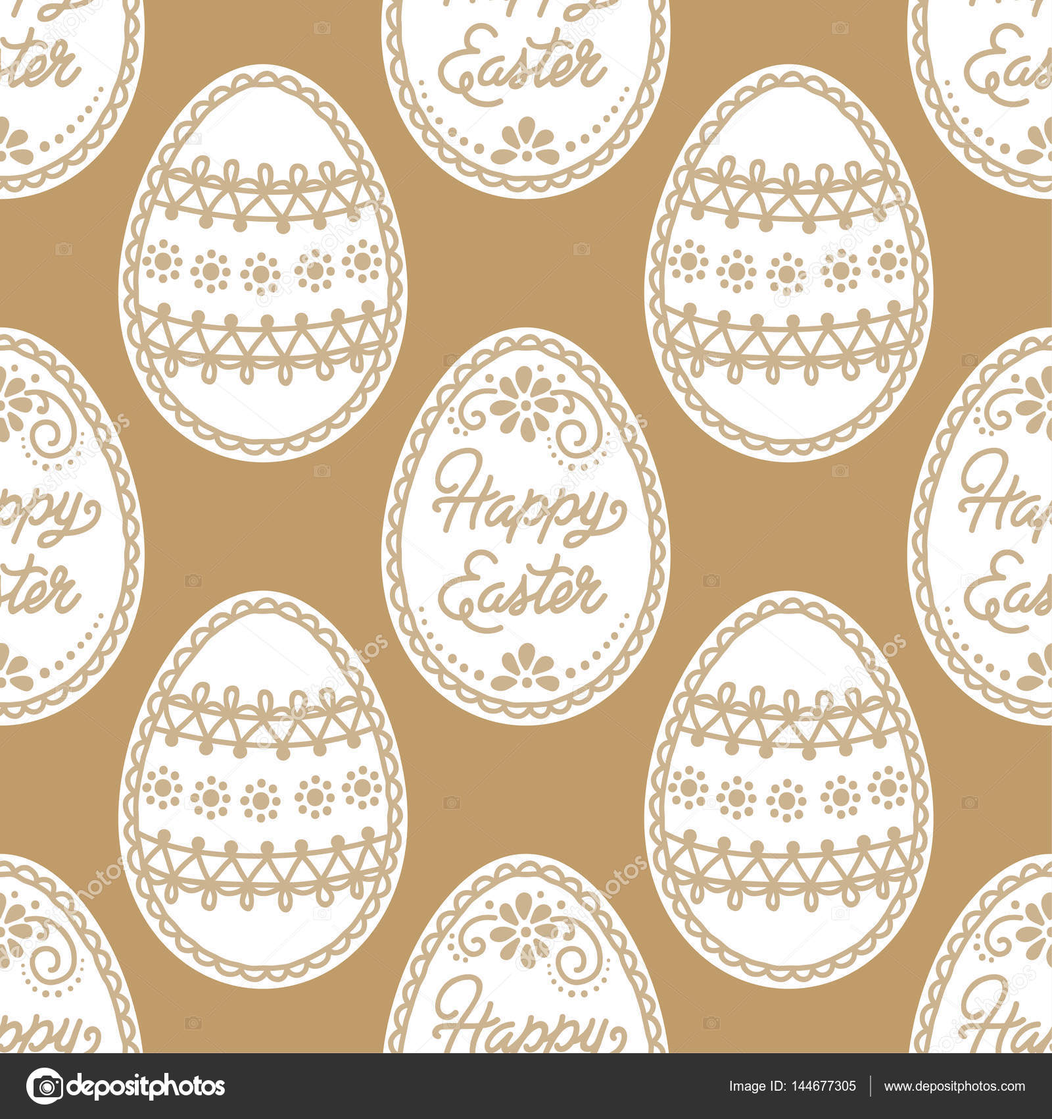 patrón sin costuras de Pascua — Vector de stock © NonikaStar #144677305