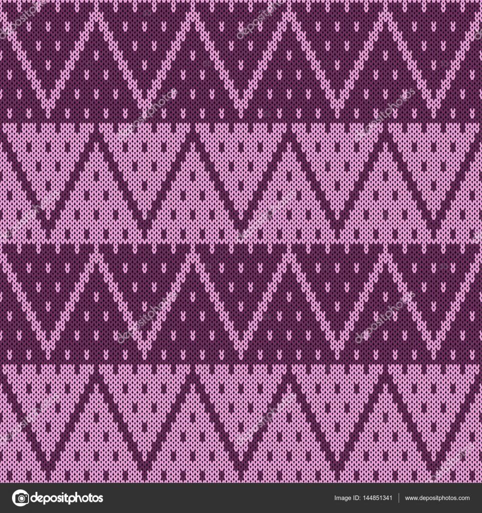 patrón de tejido sin costuras — Vector de stock © NonikaStar #144851341
