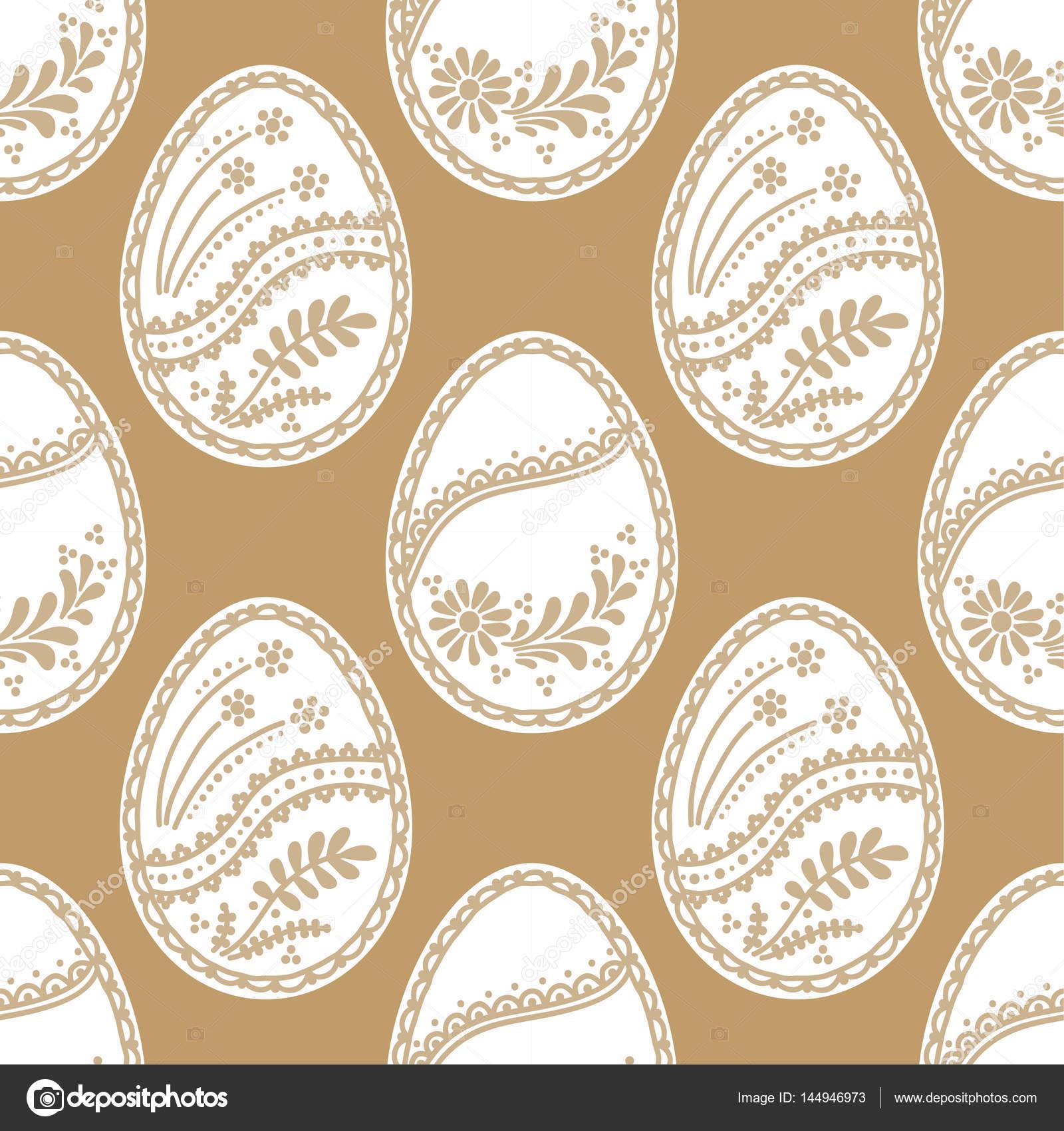 patrón sin costuras de Pascua — Archivo Imágenes Vectoriales ...
